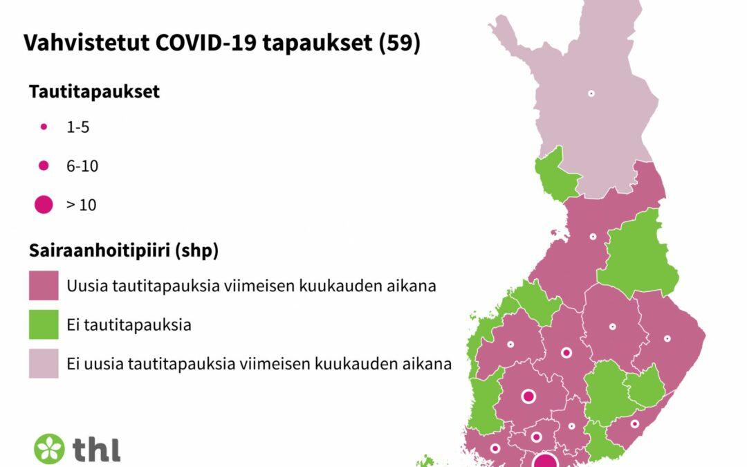 Tiedote COVID-19-vistustilanteesta